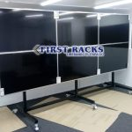 pedestal video wall tv