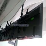 rack videowall techo tv